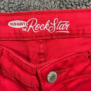 Old Navy Pants - Old Navy Rockstar skinny jeans